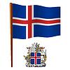 island wellig Flagge