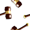 Holz-Hammer-Muster