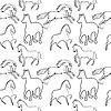 Pferd Muster