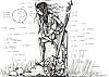 ID 3267197 | Amazone mit Schwert in der Nacht | Stock Vektorgrafik | CLIPARTO