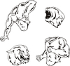 Maskottchen-Vorlagen