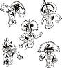 Schamanen der amerikanischen Ureinwohner