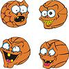 Hässliche Basketbälle
