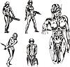 Amazonen-Cyborgs