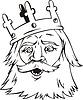 Kopf des Königs