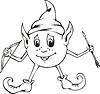 ID 3347507 | Roly-Poly Elf | Stock Vektorgrafik | CLIPARTO