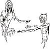 Zwei Zombies