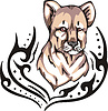 Löwenbaby Tattoo