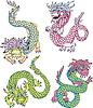 Lustige chinesischen Drachen