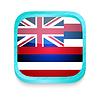 ID 3919973 | Smart phone button with Hawaii flag | Stockowa ilustracja wysokiej rozdzielczości | KLIPARTO