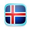 ID 3919977 | Smartphone-Taste mit Island-Flagge | Illustration mit hoher Auflösung | CLIPARTO