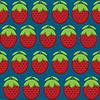 Erdbeeren-Muster