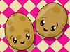 Kawaii Kartoffel Symbolen