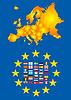 Europas Landkarte