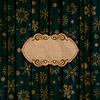 ID 4019537 | Gold Schneeflocken auf blauem Hintergrund | Stock Vektorgrafik | CLIPARTO