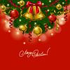 ID 4072175 | Hintergrund mit Kugeln, Weihnachtsbaum | Stock Vektorgrafik | CLIPARTO