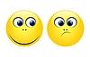 Zeichen der gelben Smilies