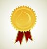 Pferd Symbol award Rosette