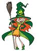ID 3961512 | Witch uroczy | Klipart wektorowy | KLIPARTO