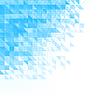 Абстрактный синий фон с треугольниками, квадратами   Векторный клипарт