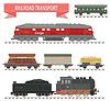 Züge. Railroad Set