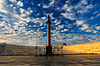 ID 3803019 | Красивое утреннее небо над Дворцовой площадью, | Фото большого размера | CLIPARTO