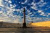 ID 3803019 | 궁전 광장의 아름다운 아침 하늘, | 높은 해상도 사진 | CLIPARTO
