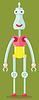 ID 3780767 | Lustige Roboter | Stock Vektorgrafik | CLIPARTO
