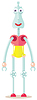 ID 3788778 | Zabawna robota | Klipart wektorowy | KLIPARTO