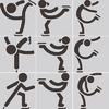 Eiskunstlauf-Symbol
