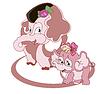 ID 3813958 | Rodzina słoni | Klipart wektorowy | KLIPARTO