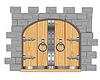 Tore in der Festung