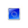Aktualisieren-Symbol auf blaue Taste