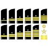 ID 3759100 | Schulter-Patches Mitarbeiter der russischen Marine | Stock Vektorgrafik | CLIPARTO