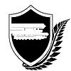 Schild und Missile Carrier