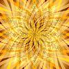 ID 3923118 | Weinlese-Orange-gold Muster mit durchscheinenden Strahlen | Stock Vektorgrafik | CLIPARTO