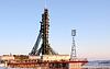 ID 4027588 | Soyuz Spacecraft on Launch Pad in Baikonur | Foto stockowe wysokiej rozdzielczości | KLIPARTO