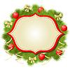 ID 4056378   Weihnachtsglückwunschkarte Hintergrund   Stock Vektorgrafik   CLIPARTO