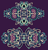 Декоративные цветочные украшения | Векторный клипарт