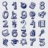 25 Skizze Bildung-Ikonen