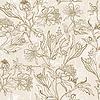ID 3898615 | Kwiat bez szwu tła | Klipart wektorowy | KLIPARTO