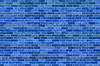 Background of blue stone wall texture | Stock Foto