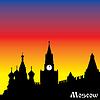 silhouette Moskau