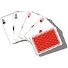 Spielkarte 0 Set