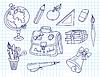 Scribble schriftlich-Bücher Set