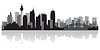 Sydney Australien Skyline Silhouette
