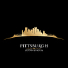 Pittsburgh Pennsylvania Skyline Silhouette