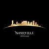 Nashville Tennessee Skyline Silhouette schwarz
