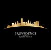 Providence Rhode Island Stadt Silhouette schwarz