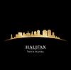 Halifax Nova Scotia Kanada Skyline Silhouette